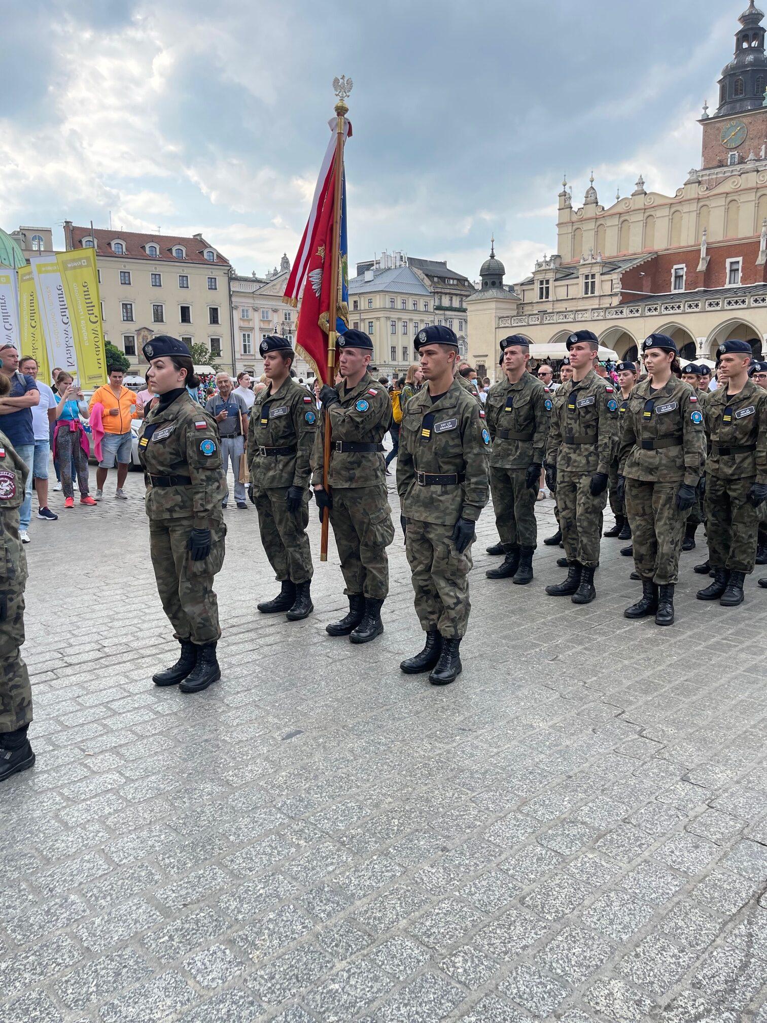 Pożegnanie żołnierzy wyklętych