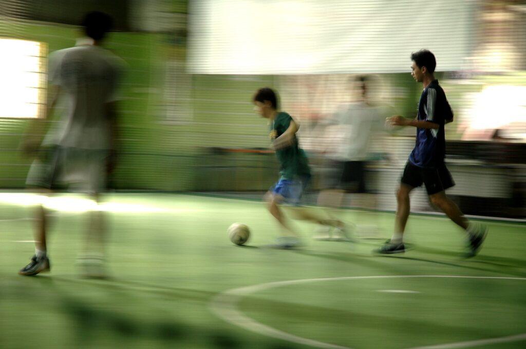 zdjęcie przedstawiające fusbal