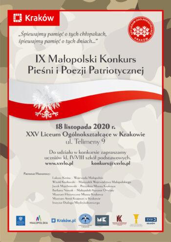 IX MKPIPP - Plakat z zaproszeniem na konkurs